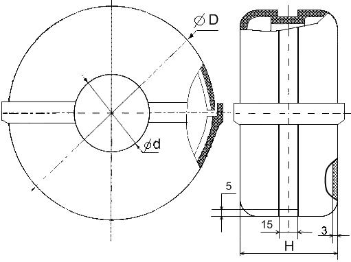 Кожух защитный полиэтиленовый КЗП исполнение 2